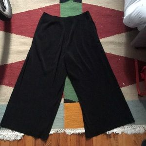 Uniqlo Micropleated Wide Leg Pants